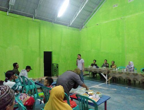 Musyawarah Dusun VII Tentang Pembangunan Sarana Air Bersih