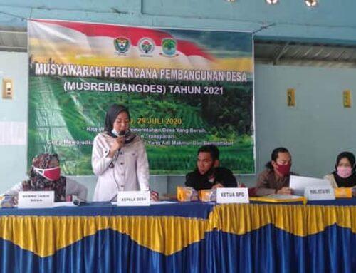 MUSRENBANG Desa Untuk Tahun 2021 Desa Karang Raja