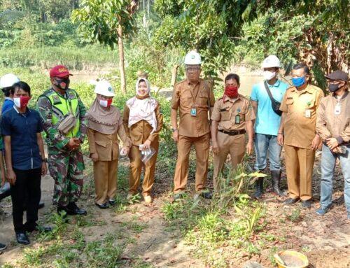 Peletakan Batu Pertama Pembangunan IPAL Komunal Desa Karang Raja