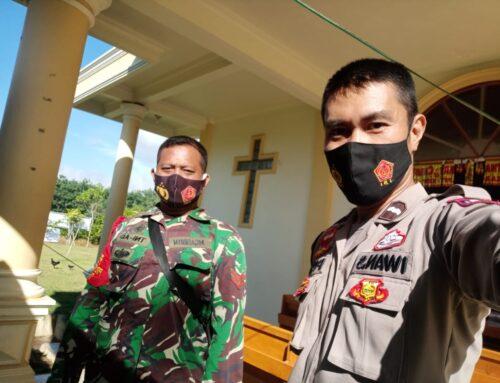 Jaminan Keamanan Hari Natal di Gereja yang ada di Desa Karang Raja